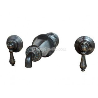 Mexican Bronze Faucets Set Gomara