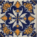 Mexican Talavera Tile  Messina 2