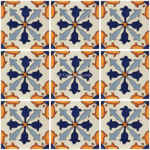 Mexican Talavera Tile Taxco