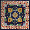 Mexican Talavera Tile Amatan
