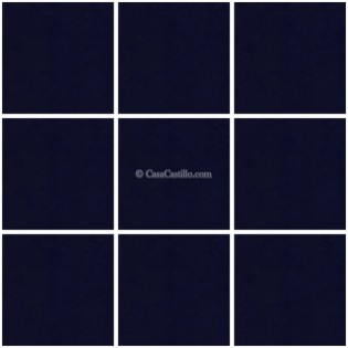 Mexican Ceramic Frost Proof Tiles Azul Cobalt 3