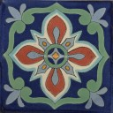 Mexican Talavera Tile Bella 1