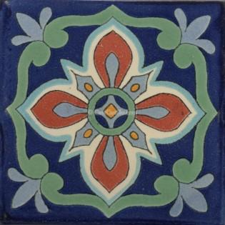 Mexican Talavera Tile Bella 1