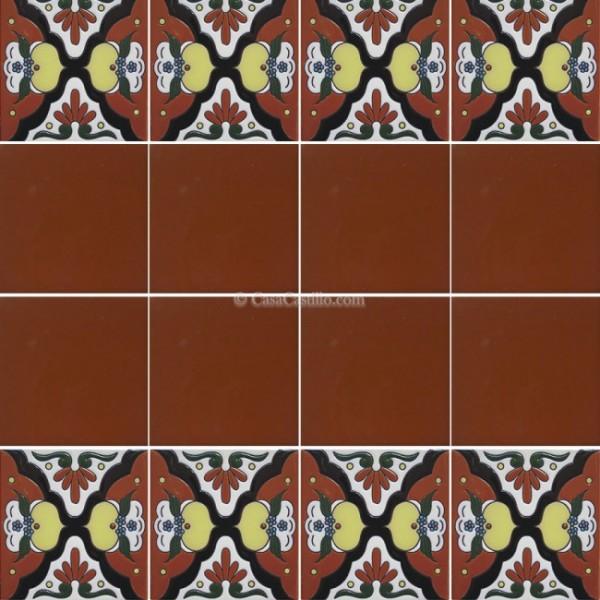 Mexican Border Tiles High Relief Ceramic Navia