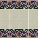 Ceramic High Relief Border Tile Parla