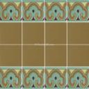 Ceramic High Relief Border Tile Alcobendas