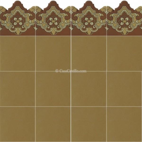 Mexican Border Tiles High Relief Ceramic Plaquet