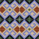 Ceramic High Relief Border Tile Valencia