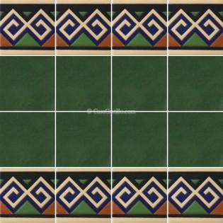 Ceramic High Relief Border Tile Benifacio
