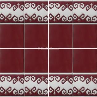 Ceramic High Relief Border Tile Llosa