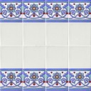 Ceramic High Relief Border Tile Navarres
