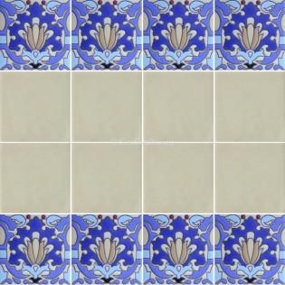 Ceramic High Relief Border Tile Lorca