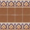 Ceramic High Relief Border Tile Lanzarote