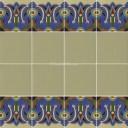 Ceramic High Relief Border Tile Nombela