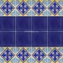 Ceramic High Relief Border Tile Aranjuez