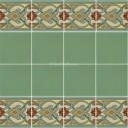 Ceramic High Relief Border Tile Atienza