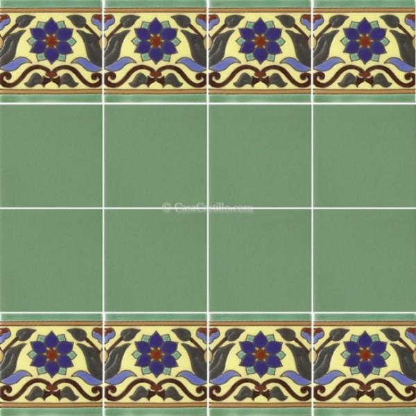 Ceramic High Relief Border Tile Cantalejo