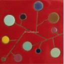 Ceramic High Relief Tile Arbol Miro