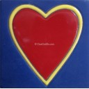 Ceramic High Relief Tile Corazon