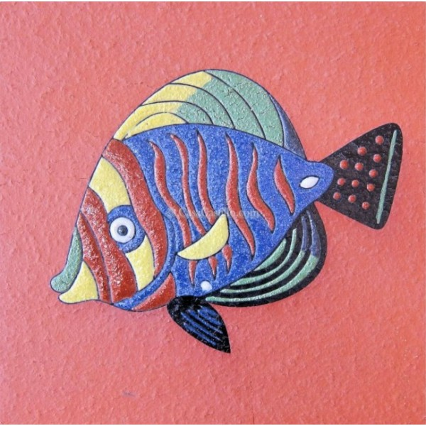 Ceramic High Relief Non Slip Tile Fish 1 Nice Ideas