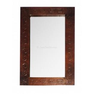 Mexican Copper Mirror