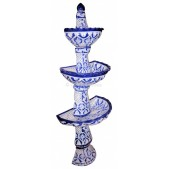 Mexican Fountain Wall Mount Oceano Azul