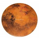 Hammered Copper Table Top Round - SELECT YOUR SIZE