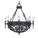 Iron Chandelier Consuelo