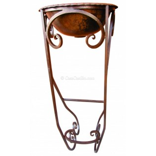 Mexican Iron Sink Stand Maria