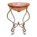 Mexican Iron Sink Stand Pilar