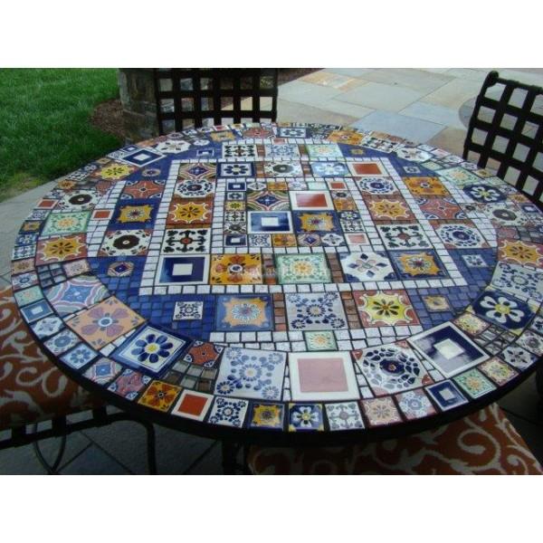 Mexican talavera tiles mixed selection sale Cheap mexican tile