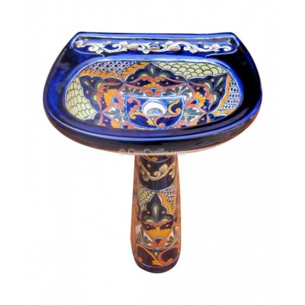 Mexican Talavera Toilet