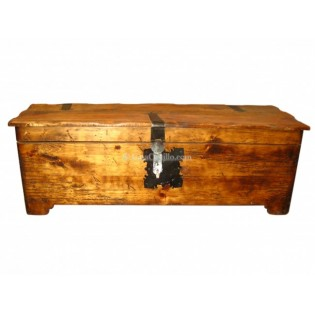 "Mexican Pinewood Chest 49"" Treasure"
