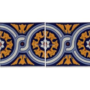 Mexican Talavera Border Tile Laredo