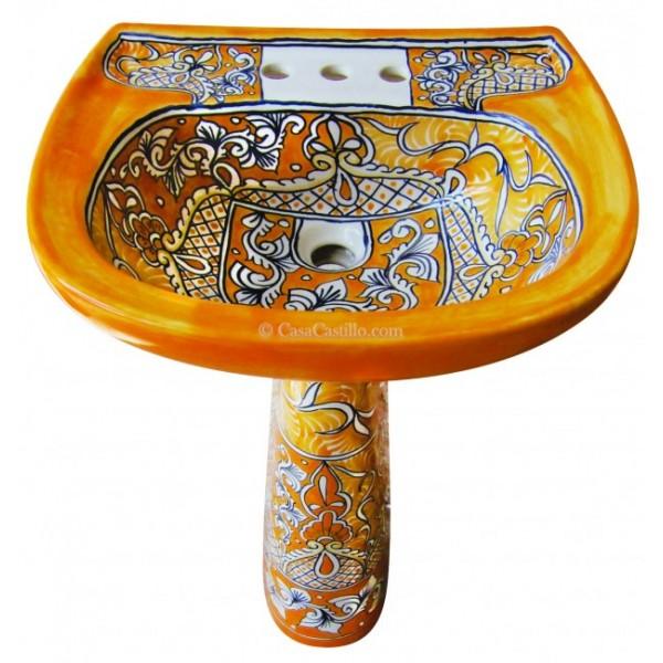 Mexican Sinks Bathroom: Mexican Talavera Toilet Acapulco Oro