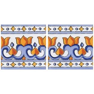Mexican Talavera Border Tile  Andria