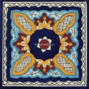 Mexican Talavera Tile Acatic