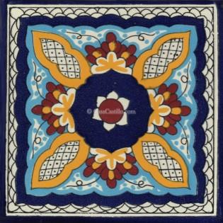 Mexican Talavera Tile Acatic