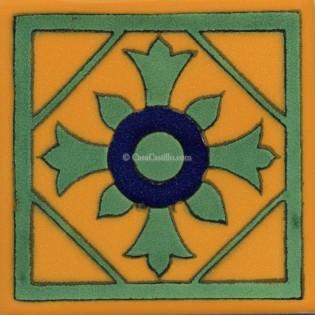 Mexican Talavera Tile Anturio