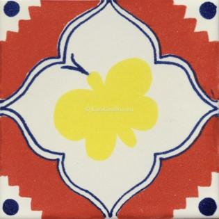 Mexican Talavera Tiles Butterfly