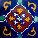 Mexican Talavera Tile Dolores