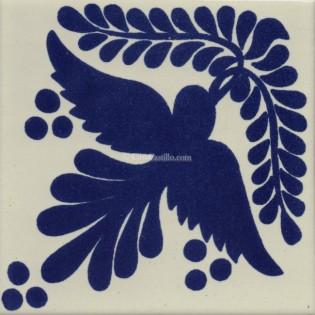 Mexican Talavera Tiles Dove 6