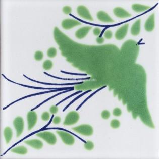 Mexican Talavera Tiles Dove 7