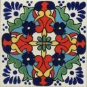 Mexican Talavera Tile Grace