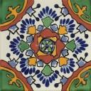 Mexican Talavera Tile Jardin Azul