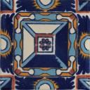 Mexican Talavera Tile Menises