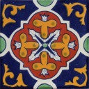 Mexican Talavera Tile Nativitas