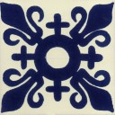 Mexican Talavera Tile Poblado
