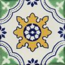 Mexican Talavera Tile Vicenza 1