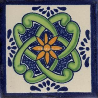Mexican Talavera Tile Anacapri
